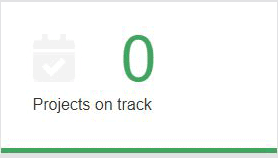 Projects on track